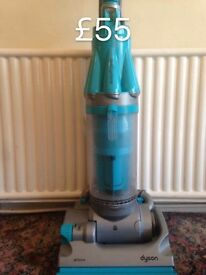 DYSON DC07 FULLY SERVICED FREE SET OF PERFUMED FILTERS SKY BLUE