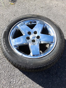 4 All Season Tires 215-55 R 18 with Rims