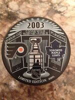 Maple Leafs Limited Edition Collectors Puck