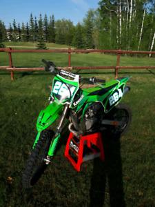 2014 Kawasaki KX 100 2 stroke