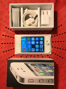 Gently Used Iphone 4 w/complete accessories!