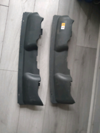 RS slam panel intake scoop x2
