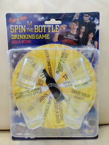 Never used Happy Hour Spin The Bottle Drinking Game