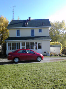 HOUSE IN HAILEYBURY mini farm on 18 town lots, private