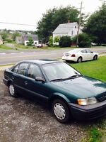 1998 Toyota Tercel Great on Fuel