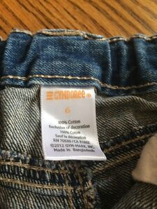 Gymboree size six embroidered Jean shorts London Ontario image 2