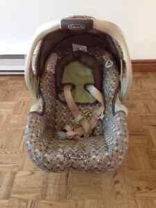 Coquille GRACO - banc d'auto bébé