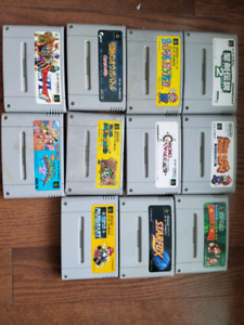 Nintendo super famico. Sfc japanese games