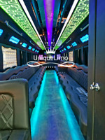 Party bus and limousine service