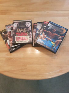 UFC DVD Collection - 7 DVDs Available