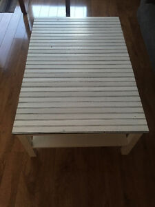 IKEA Coffee Table w/ Wood Top