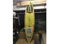 Chris bunty local hero pro series light surfboard GUL