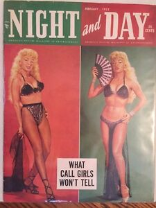 Vintage pinup and adult magazines for sale 1940s to the 1970s