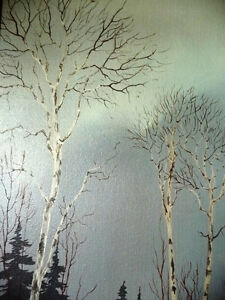 "Snowy Forest Landscape by Hilkka Pellikka ""The Evening Storm"" Stratford Kitchener Area image 4"