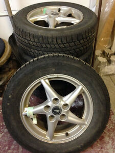 USED WINTER AND SUMMER TIRES