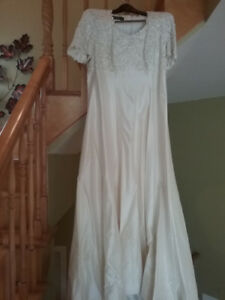 Robe de mariée Richard Robinson wedding dress ($4000)