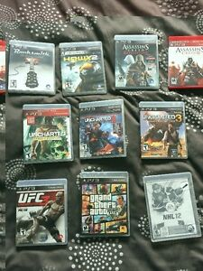 Selling some PS3 games make me a reasonable offer on any
