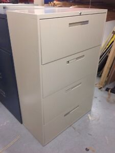 4 Drawer Lateral File Cabinets Avialable West Island Greater Montréal image 3