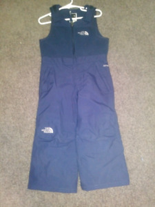 Toddler size 2T The North Face snow pants bib style EUC $20