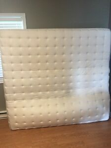King mattress with box springs