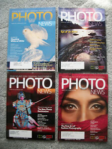 PHOTO NEWS MAGAZINES -- 10 ISSUES