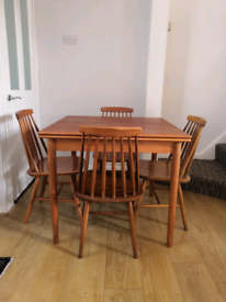 Danish - Mid Century - Table and Chairs - DELIVERY