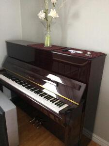 Piano droit Yamaha