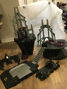 BATCAVE and  Batman Collection