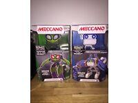 Brand new in boxes meccano micronoid