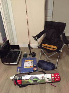 Camping/fishing gear in great condition!!!