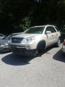 2008 GMC Acadia for parts