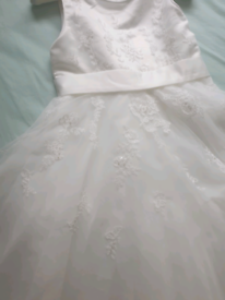 Brand new flower girl dresses and shoes