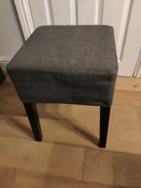 Small grey stool