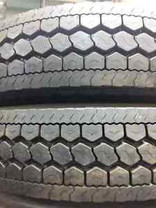 NEW RETREAD 11R22.5 TRUCK TRANSPORT TIRES