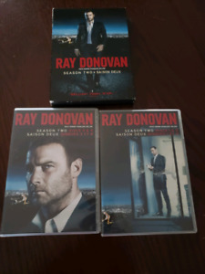 RAY DONOVAN DVD SEASON TWO