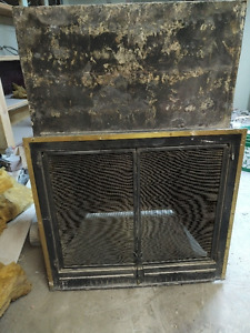 Large wood burning fireplace insert for sale