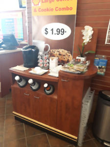 Convenient Store Coffee Stand for sale