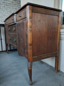 Early 1900s Antique Sideboard Cabinet