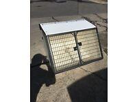 Lintran dog car box crate kennel