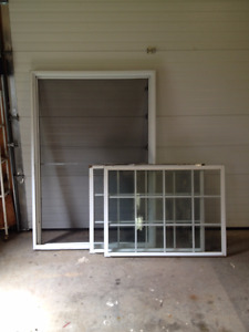 Picture window - 47 x 67 in. double hung/thermo-pane (like new)