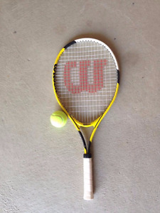 Wilson Tennis Racquet with Ball