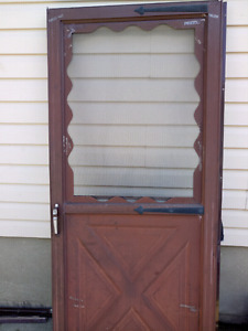 Two screen doors for sale