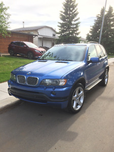 2002 BMW X5 4.6iS SUV, Crossover