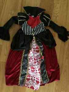High quality queen of hearts costume size 4/5