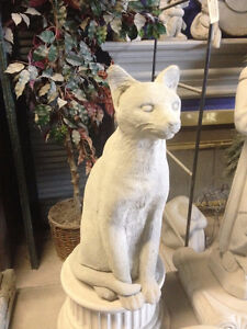 Concrete Cat Statue and Animals Ornaments