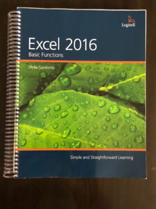 Office administration Excel 2016