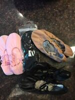 Ballet shoes Size 4 And 7 1/2