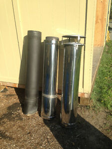 """Wood Stove Pipe 8"""" Double Wall"""