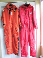 MUSTANG & BOUY-0-BOY SURVIVAL SUITS REDUCED TO SELL