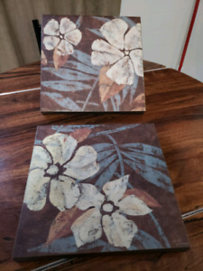 Flowers on Chocolate l l by artist Marie Donovan